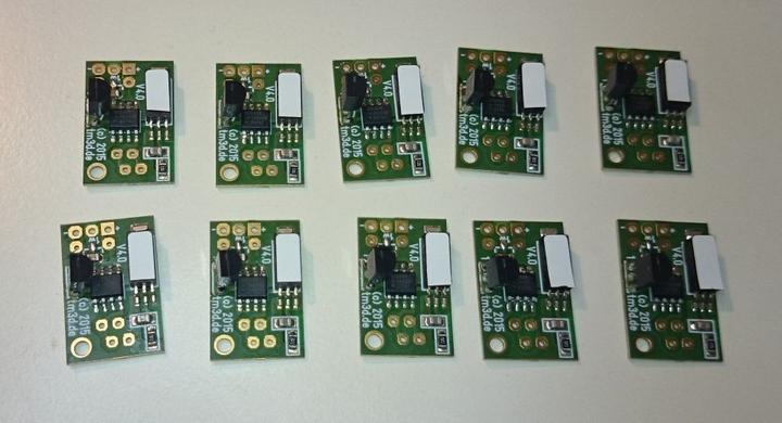 1-Wire Feuchte und Temperatur Sensoren